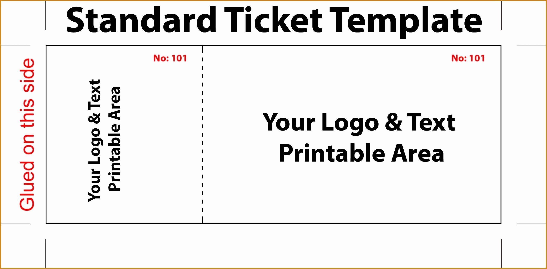 Theatre Ticket Template Photoshop