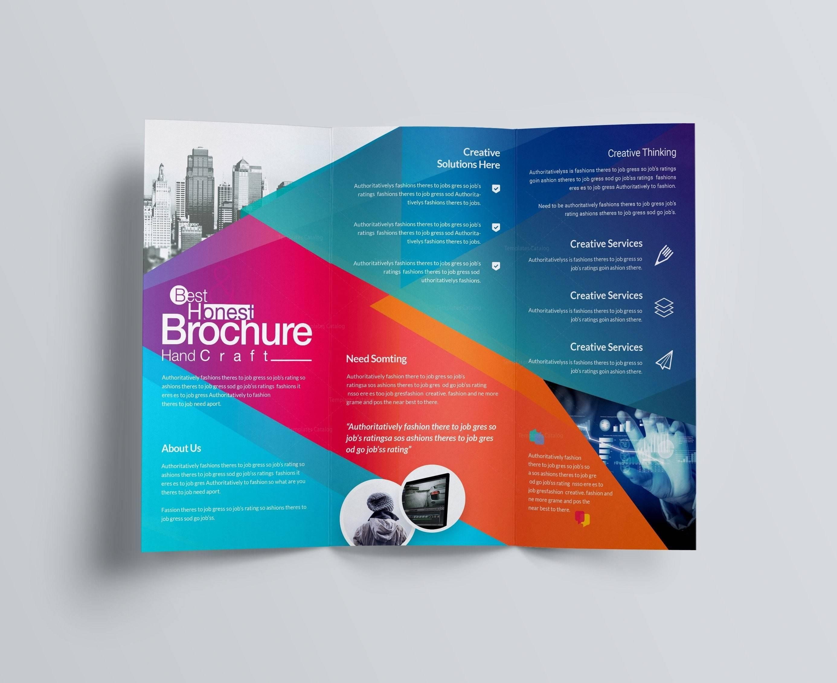 Three Fold Brochure Templates Free