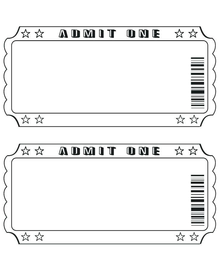 Ticket Printing Templates Free