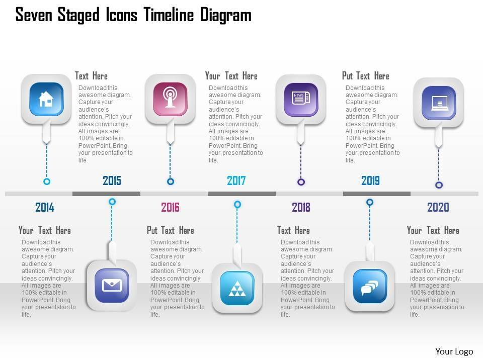 Timeline Presentation Template Free Download
