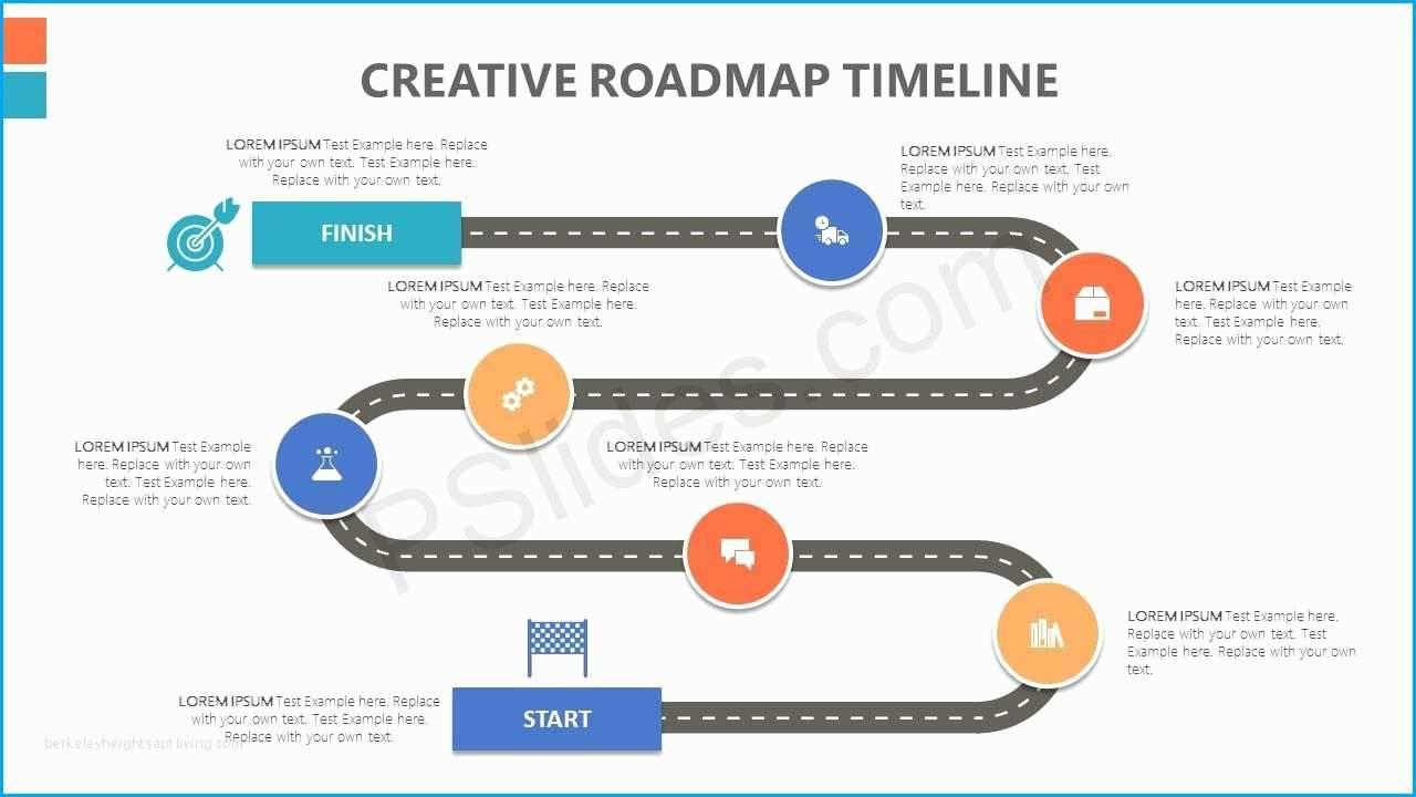 Timeline Roadmap Template Ppt