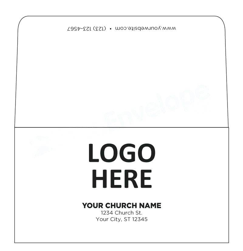 Tithing Envelope Template