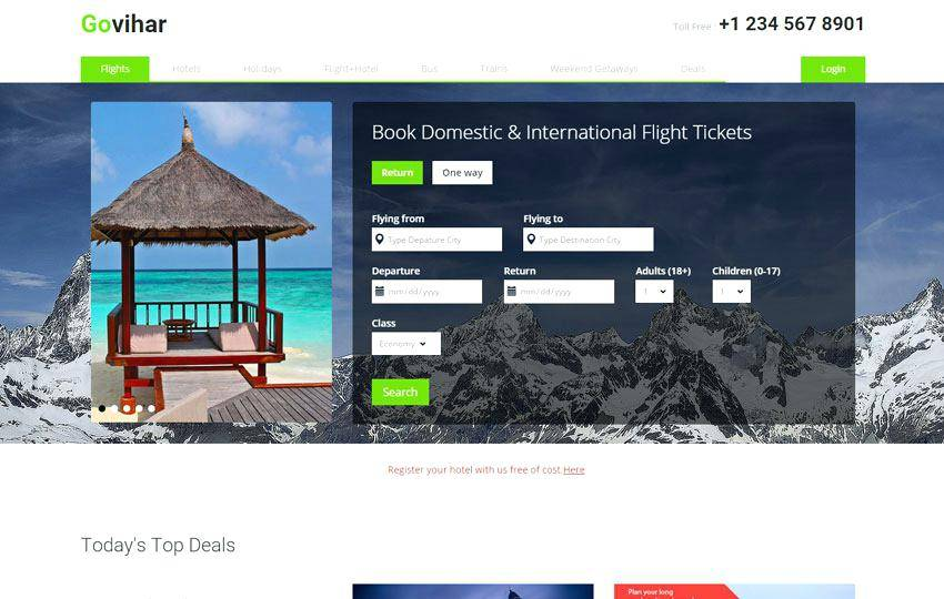 Tourism Website Templates Free Download Html With Css