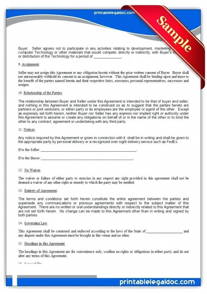 Trade Secret License Agreement Template