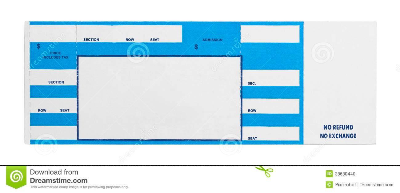 Train Ticket Template Free Printable
