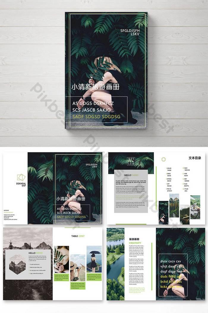 Travel Brochure Template Psd Free