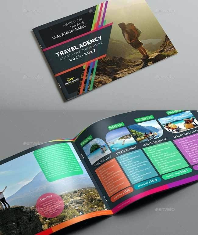 Travel Guide Booklet Template