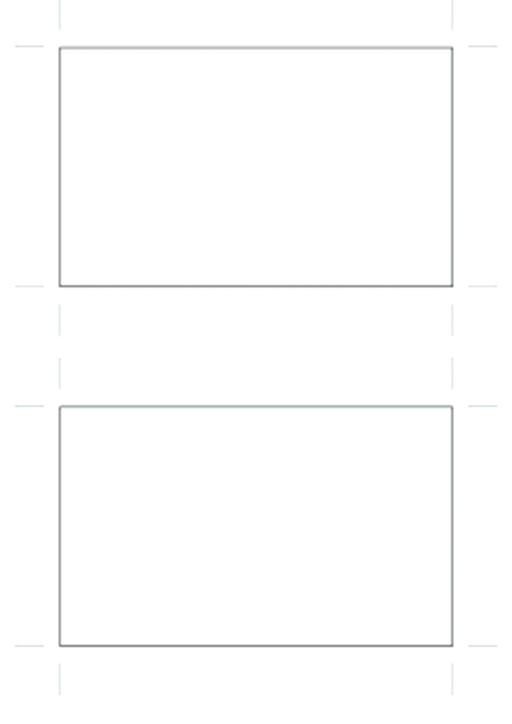 Tri Fold Brochure Blank Templates Free Download