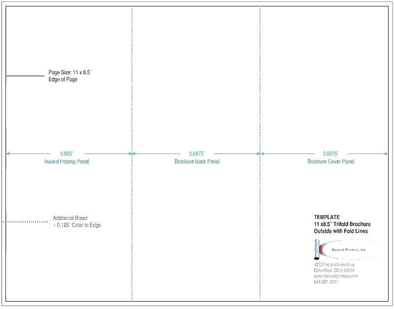 Tri Fold Brochure Mailer Templates