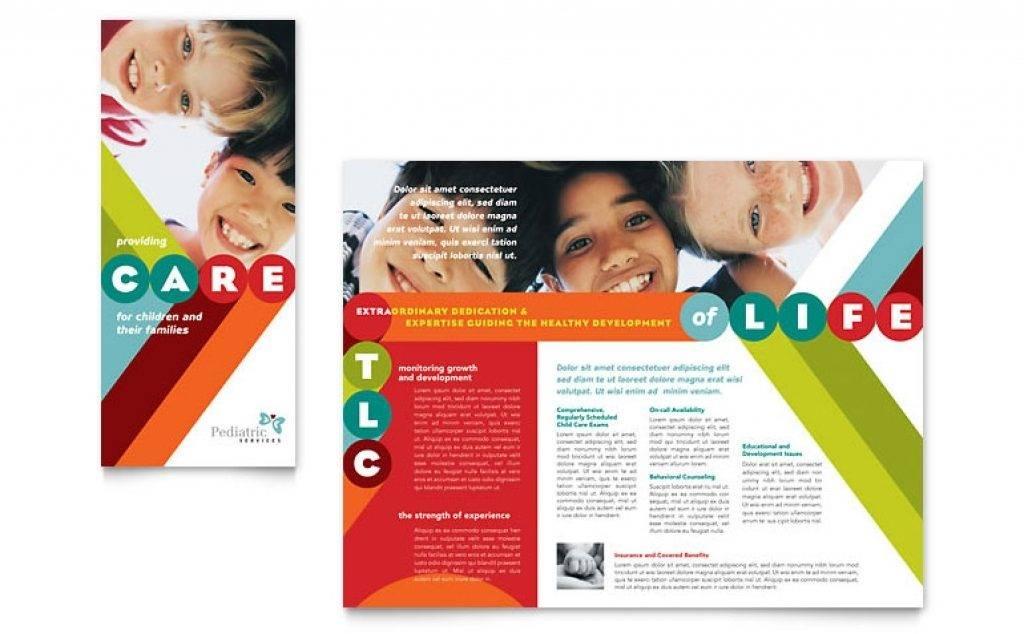 Tri Fold Brochure Template Free Download Microsoft Publisher