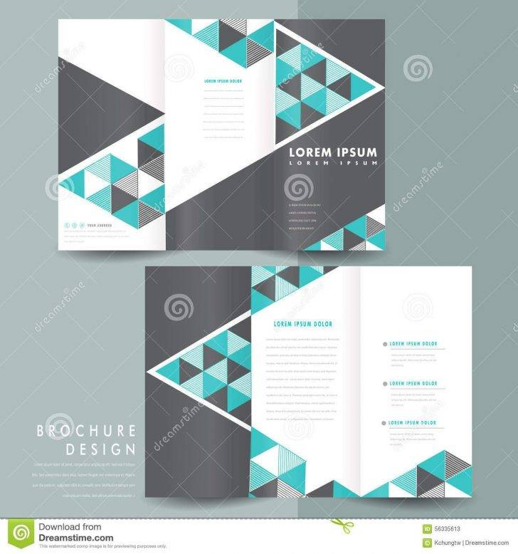 Tri Fold Brochure Template Free Illustrator