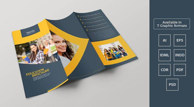 Tri Fold Brochure Template Pdf