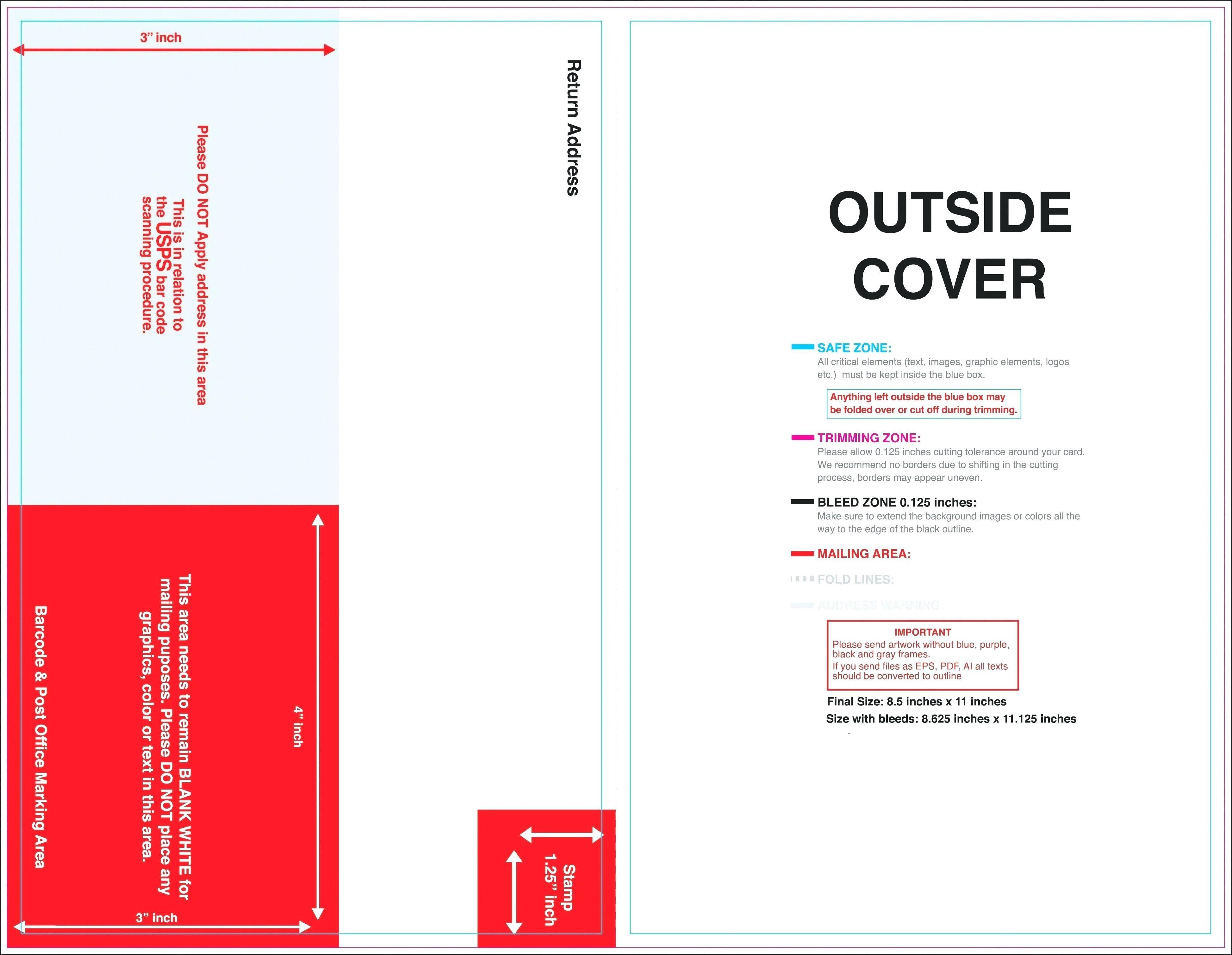 Tri Fold Brochure Template Vistaprint