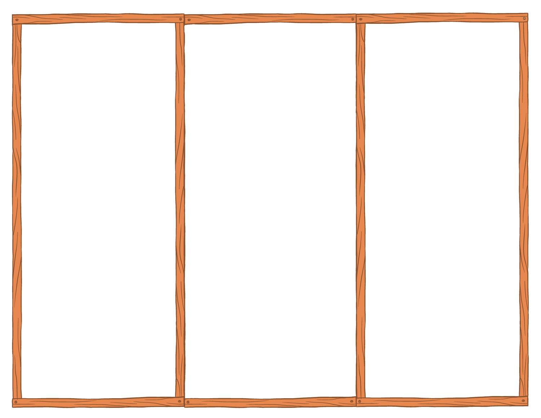 Tri Fold Brochure Templates Blank