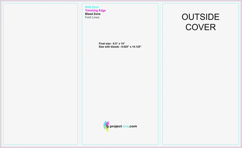 Tri Fold Brochure Templates Photoshop