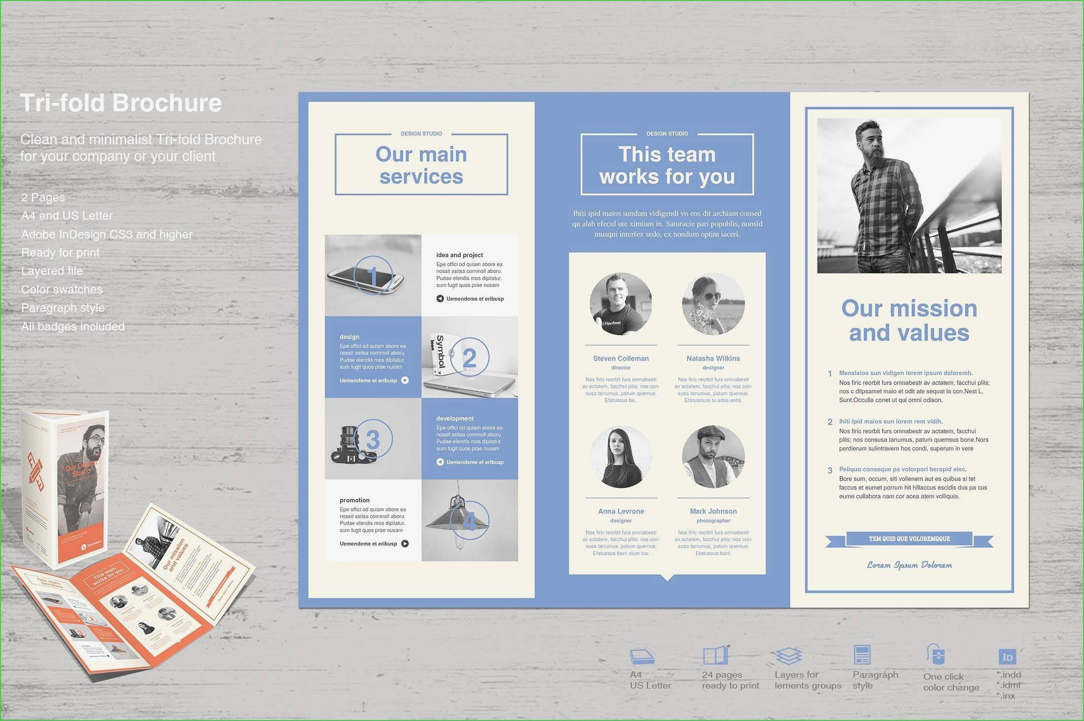 Tri Fold Brochure Templates Publisher
