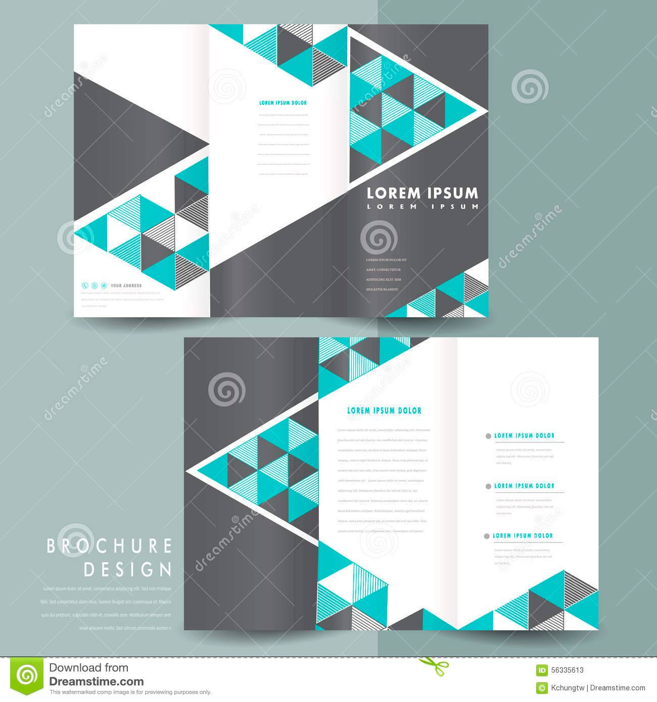 Tri Fold Brochure Templates