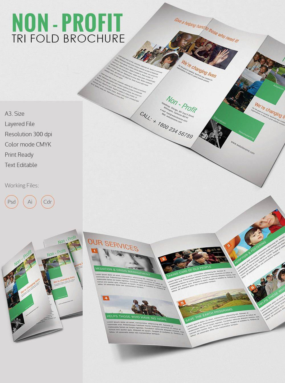 Tri Fold Flyer Template Word