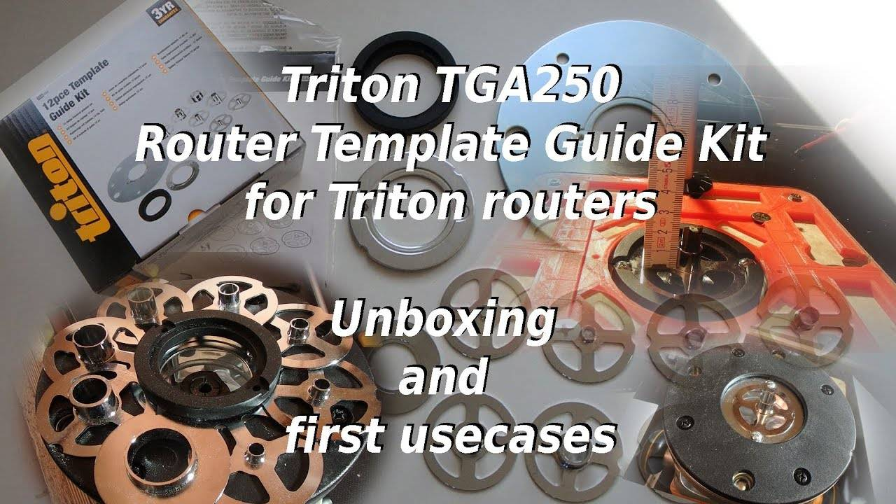 Triton Router Template Guide Kit