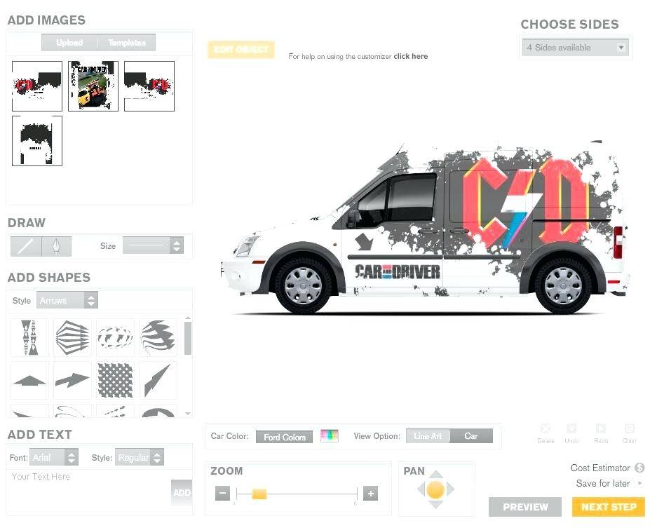 Truck Wrap Design Template