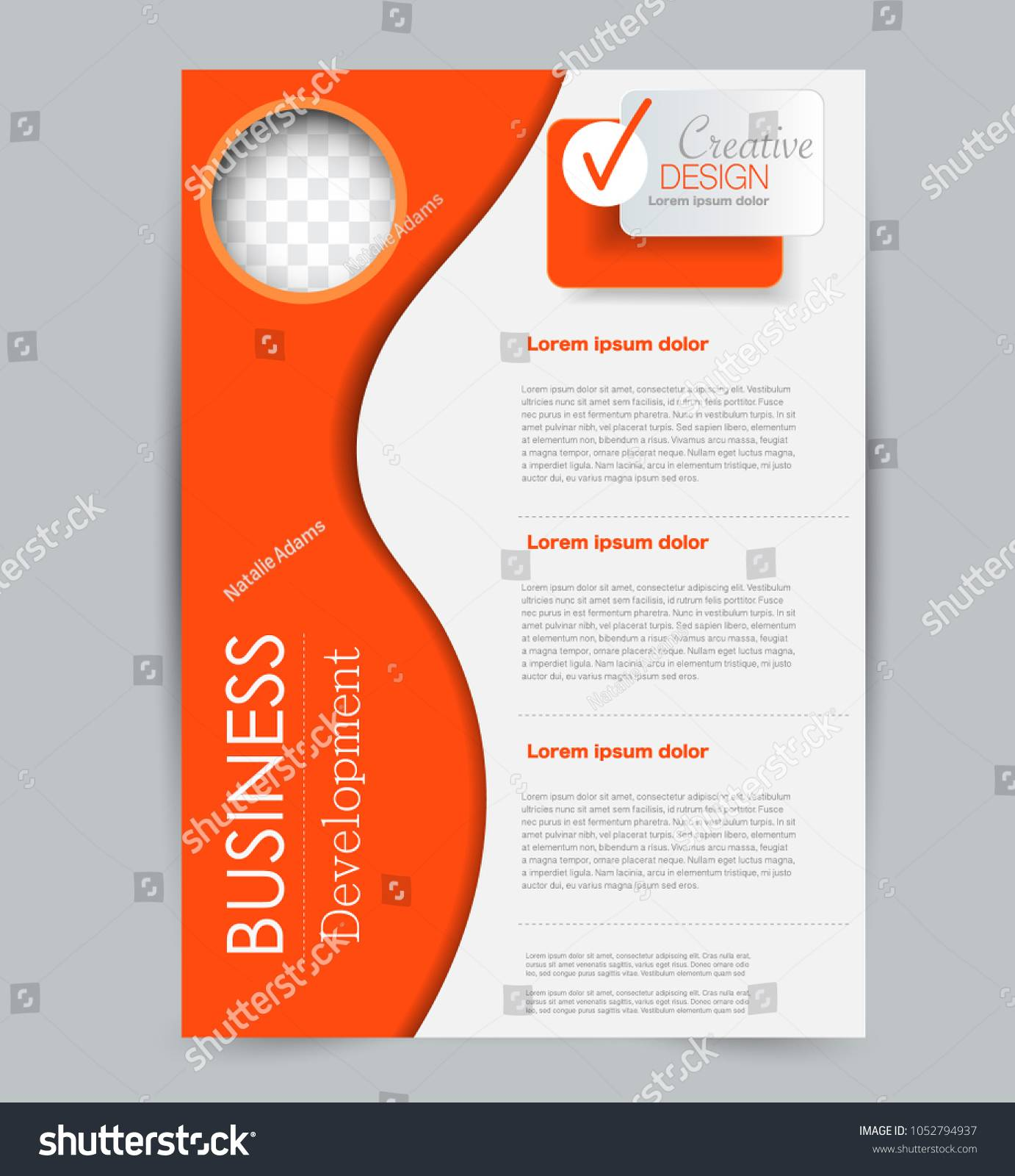 Tuition Advertisement Pamphlet Template