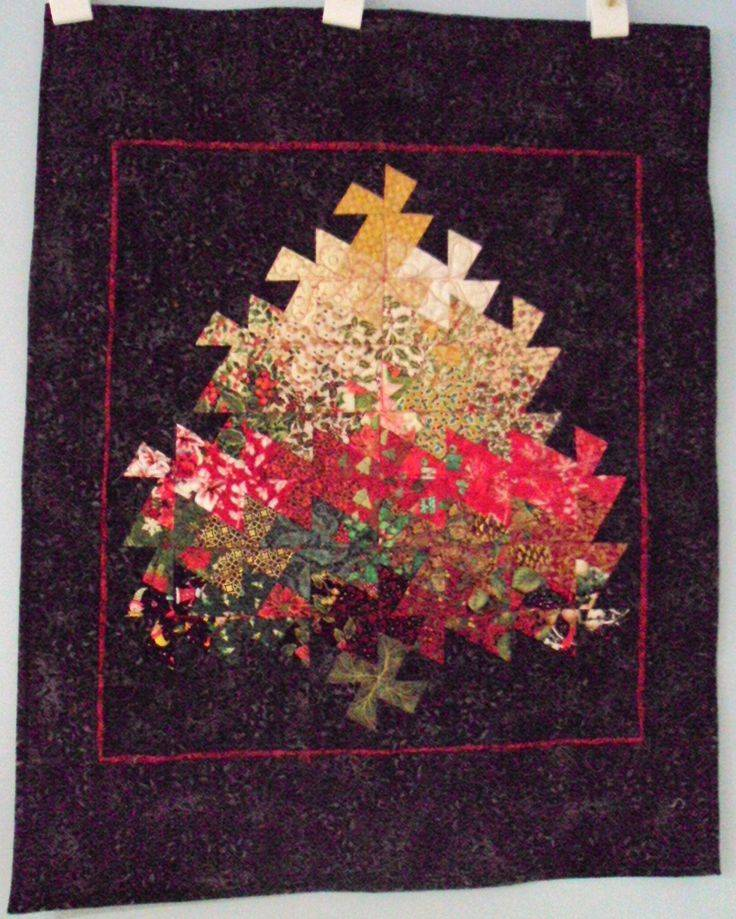 Twister Quilt Patterns Christmas Tree