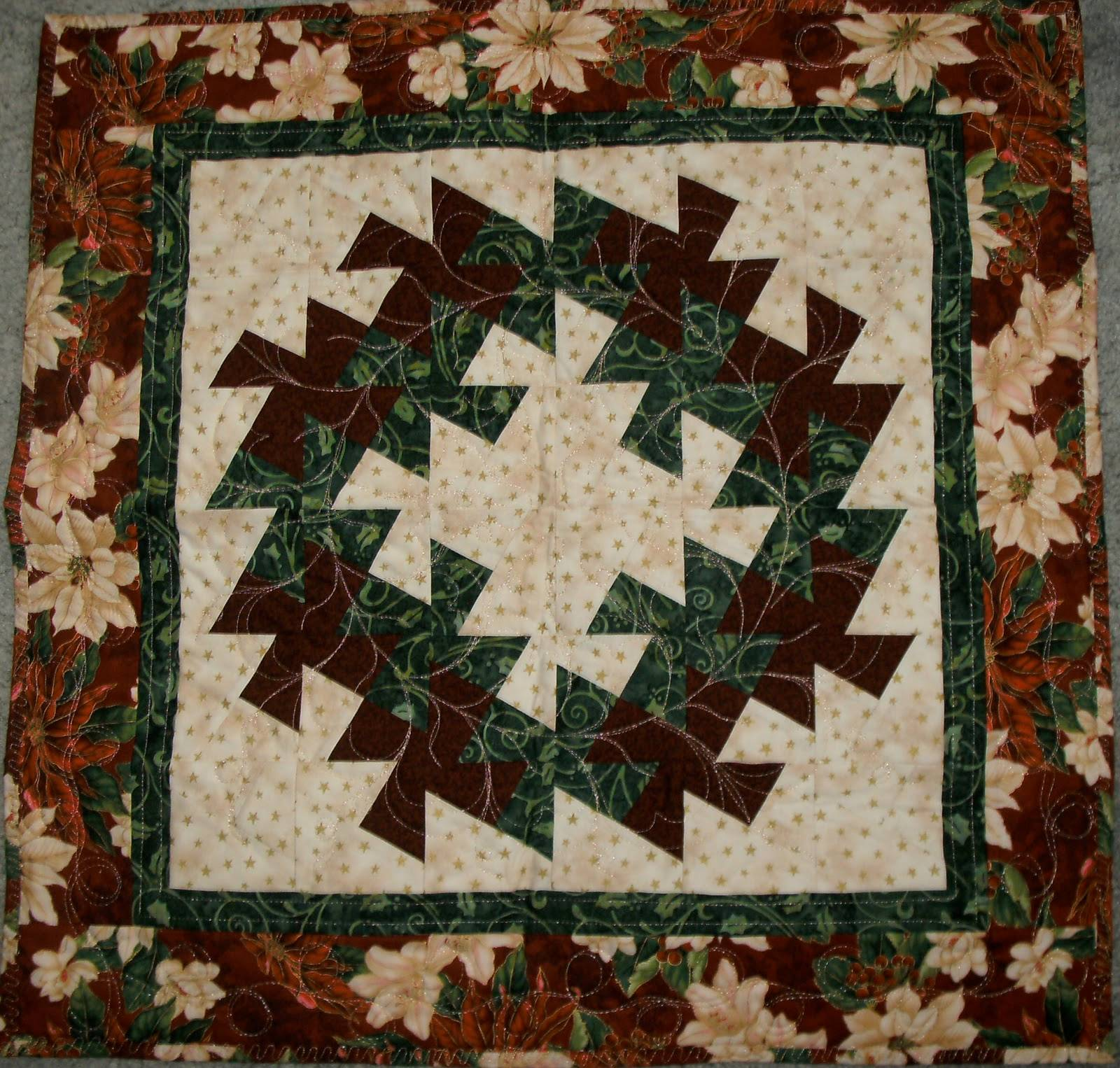 Twister Quilt Template Free