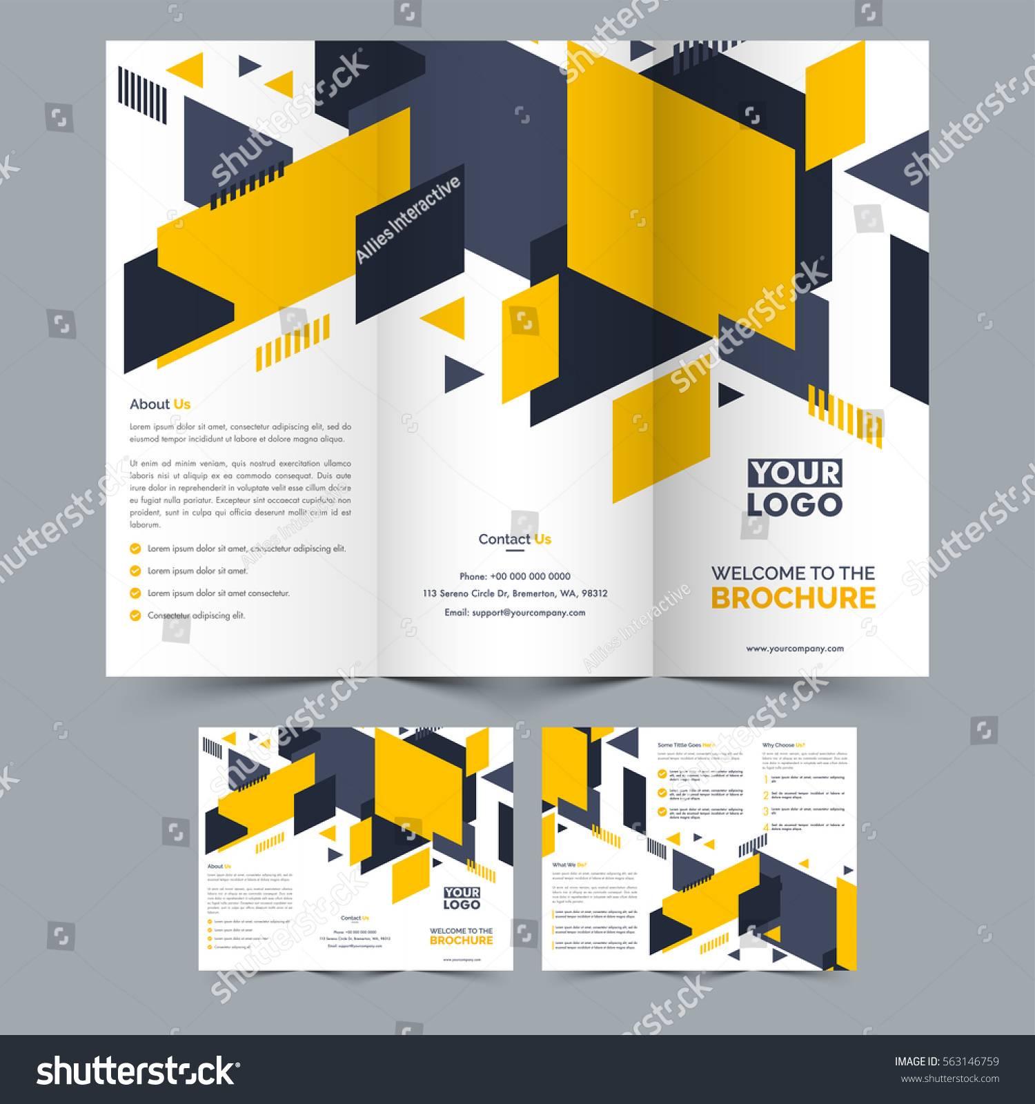 Two Fold Brochure Layout