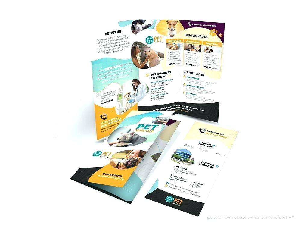 Two Fold Brochure Psd Template Free Download