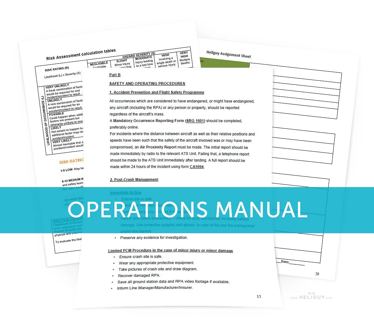 Uav Ops Manual Template