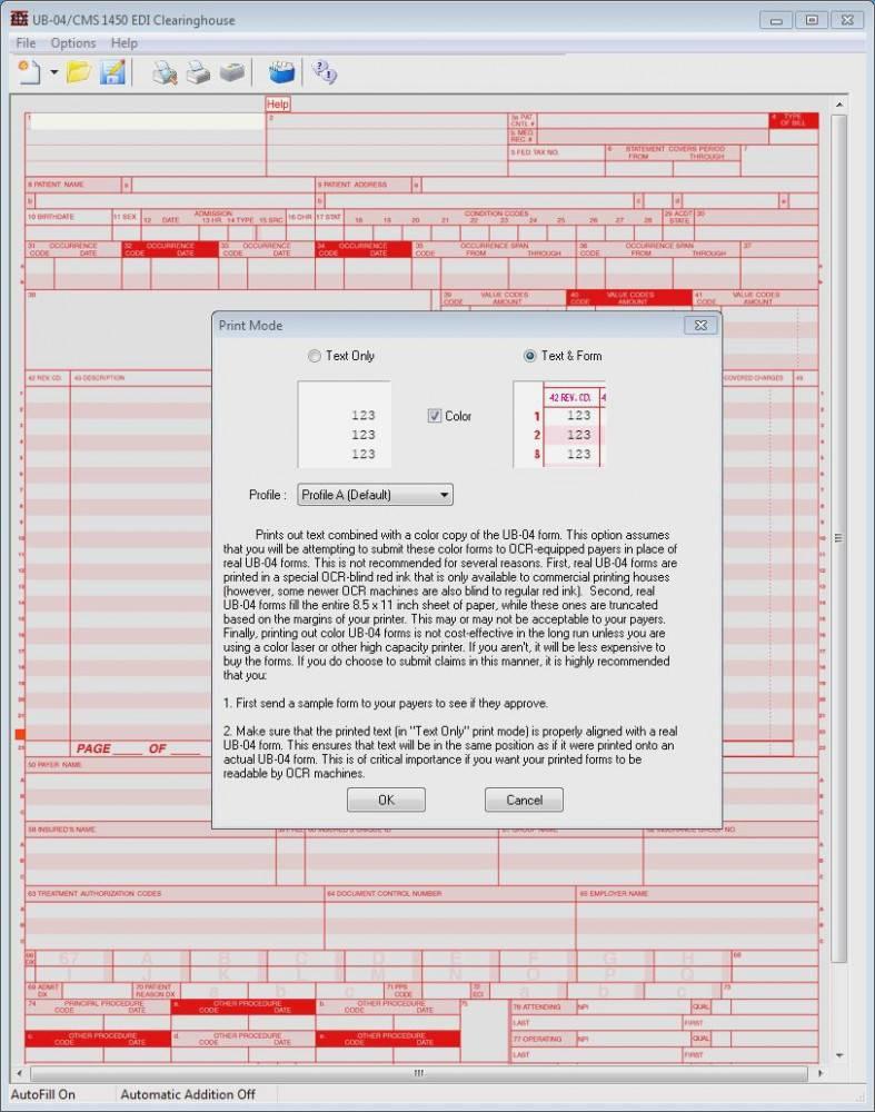 Ub 04 Form Template