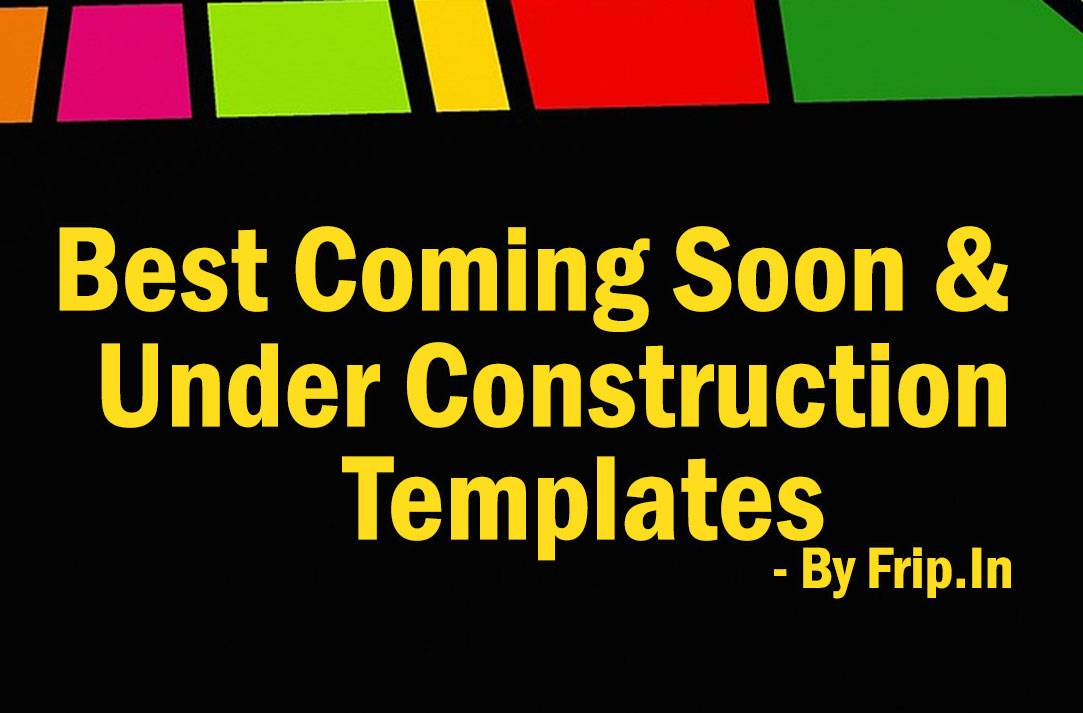 Under Construction Websites Templates