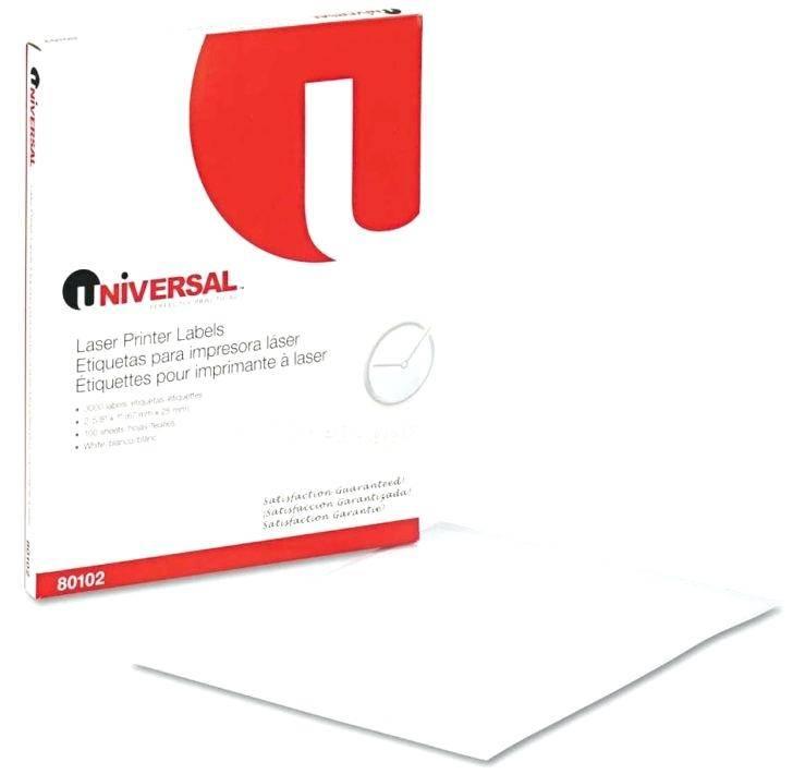 Universal Printer Label Templates
