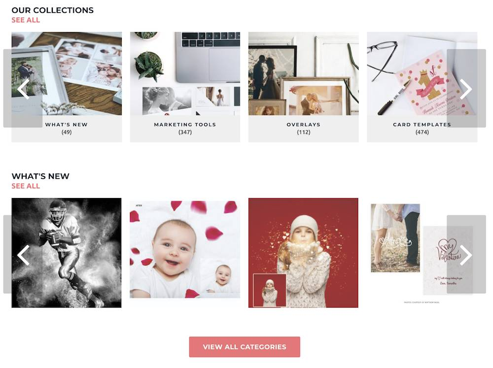 Unlimited Photoshop Templates For Photographers