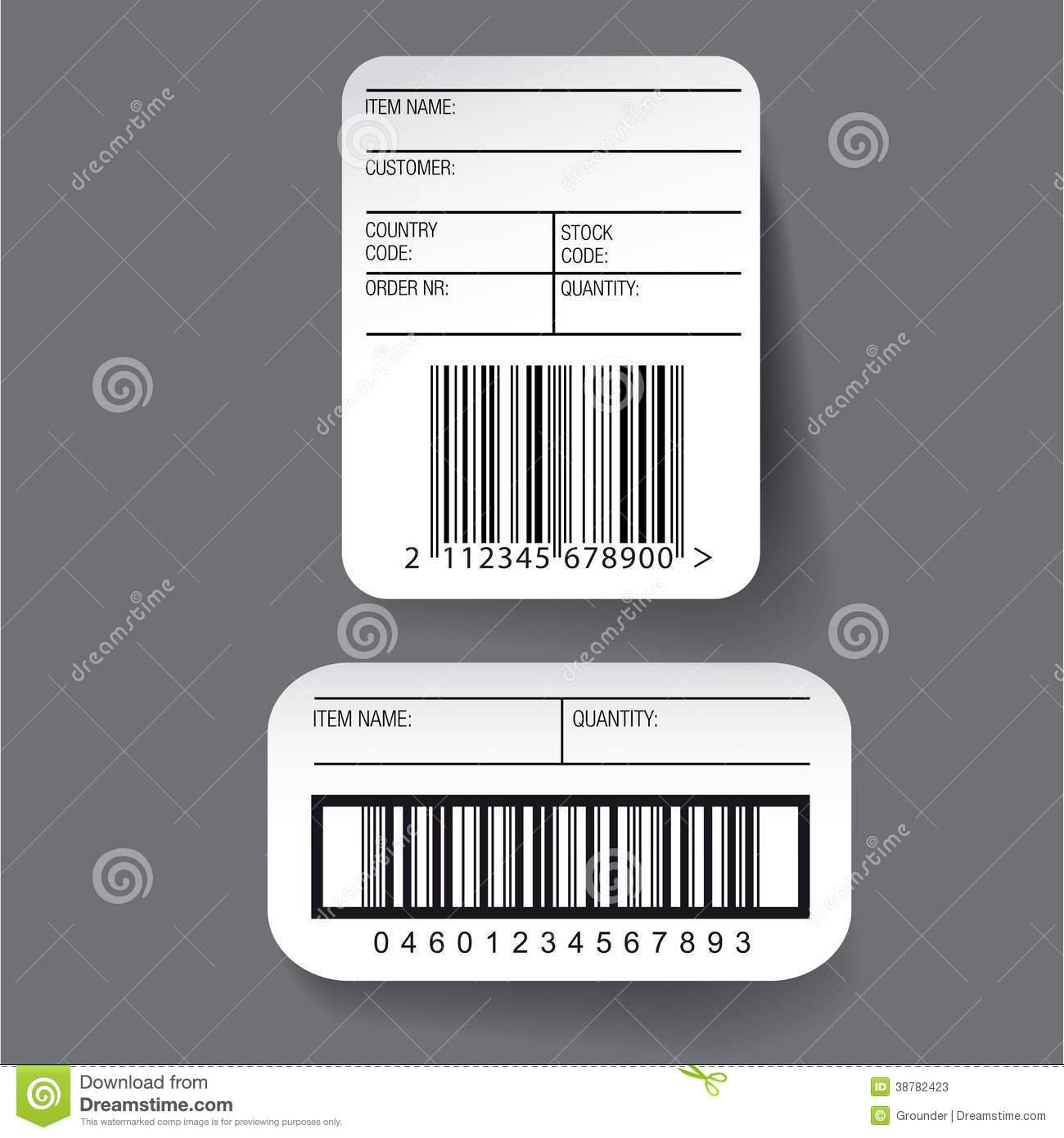 Upc Barcode Label Template