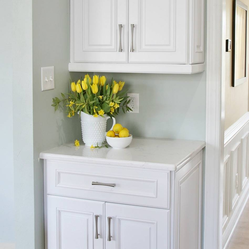 Using A Cabinet Knob Template