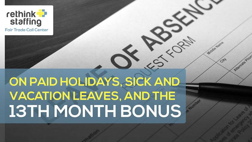Vacation And Sick Leave Policy Template Philippines