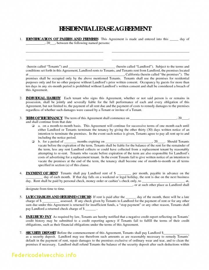 Vacation Condo Rental Agreement Template
