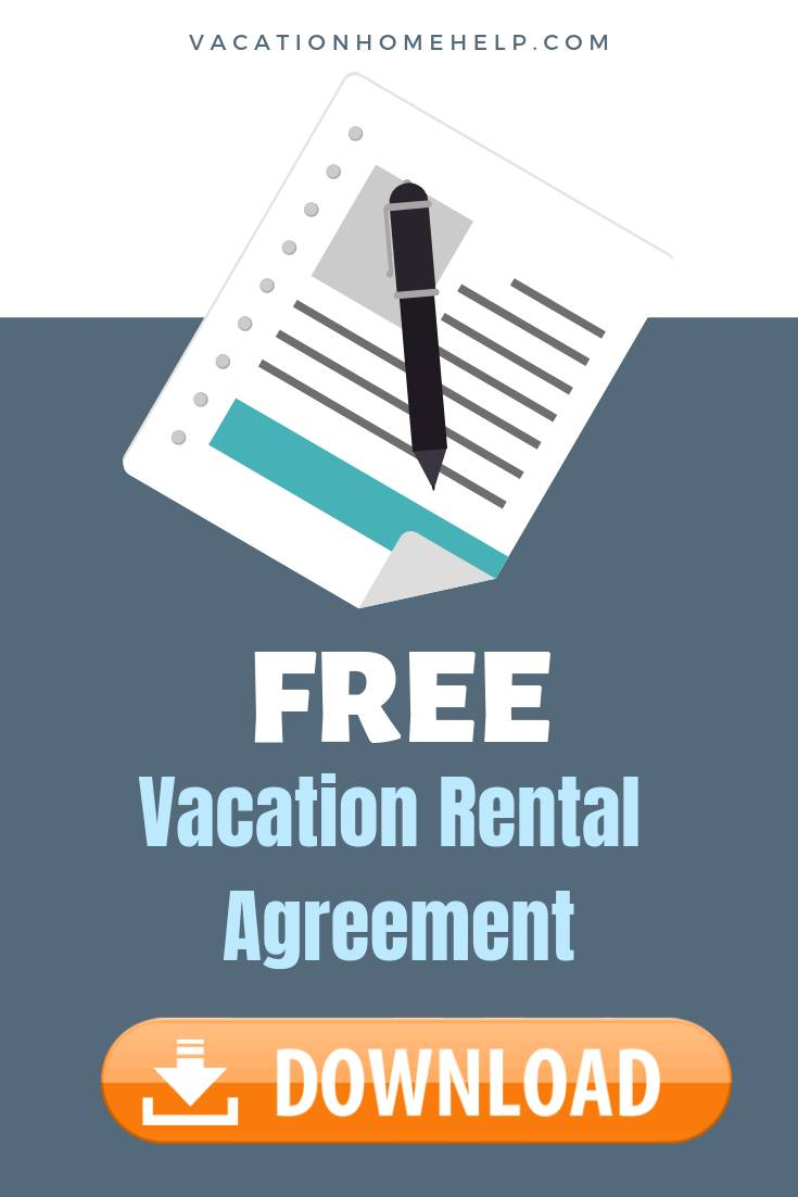 Vacation Rental Agreement Contract