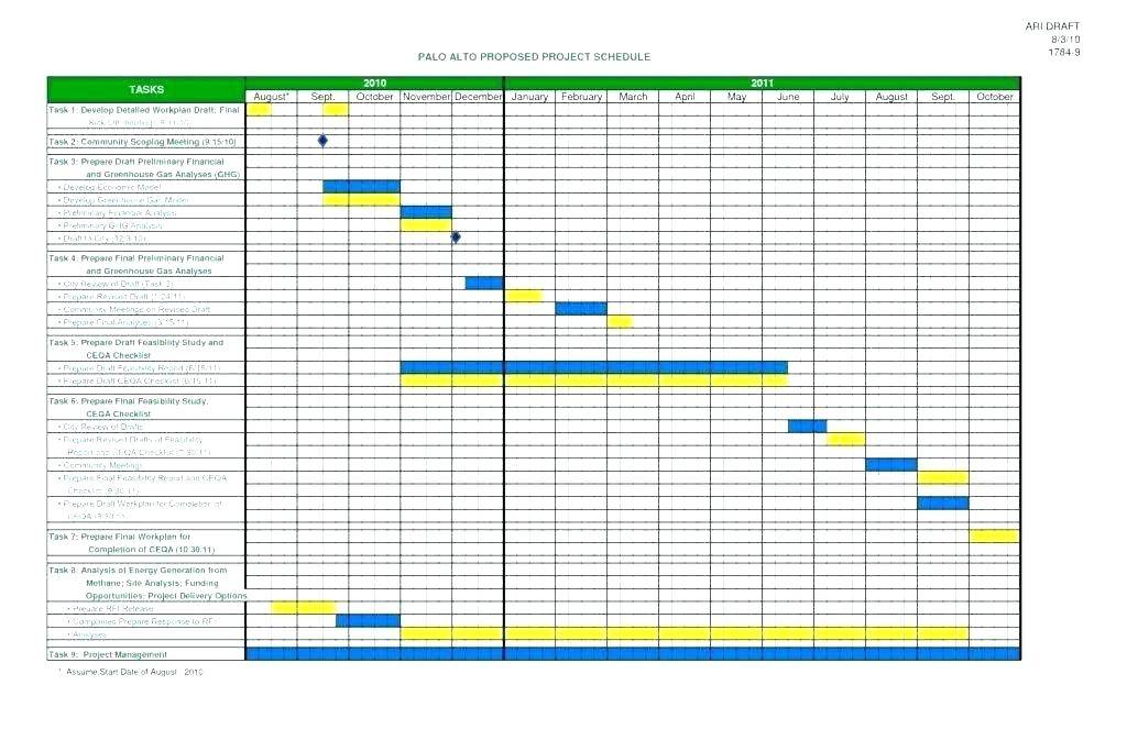Vacation Schedule Template Excel 2017