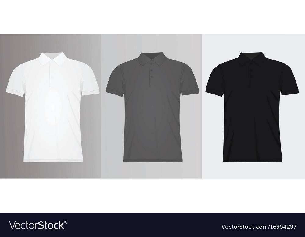 Vector Polo Shirt Template Free