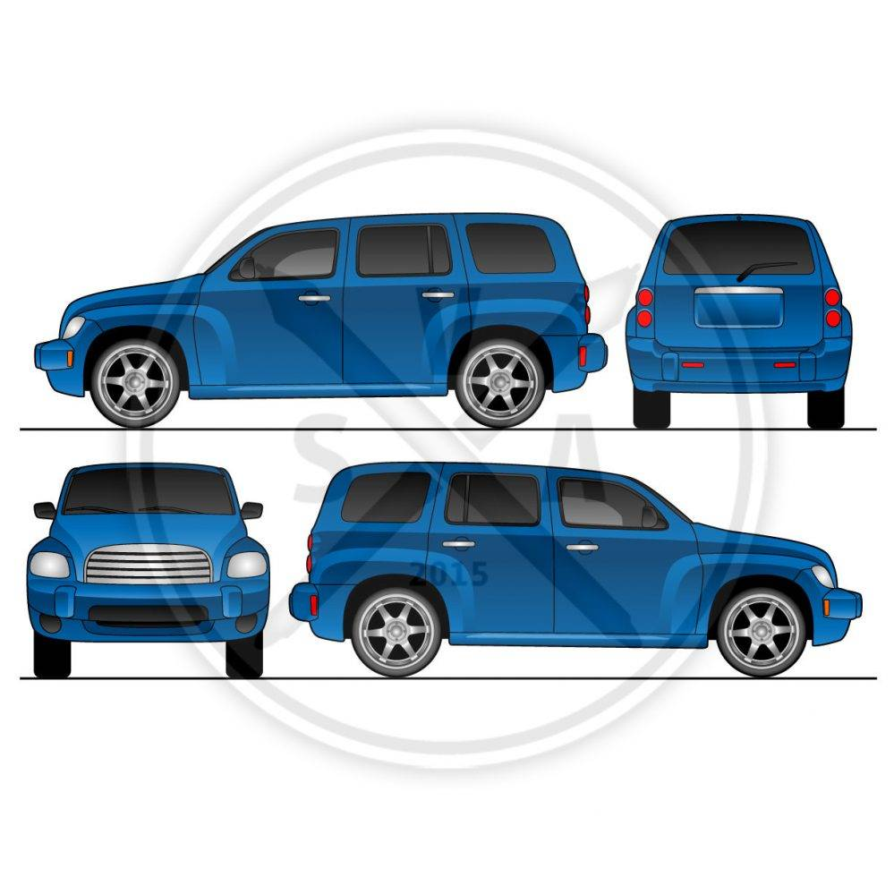 Vector Templates Vehicle Wraps