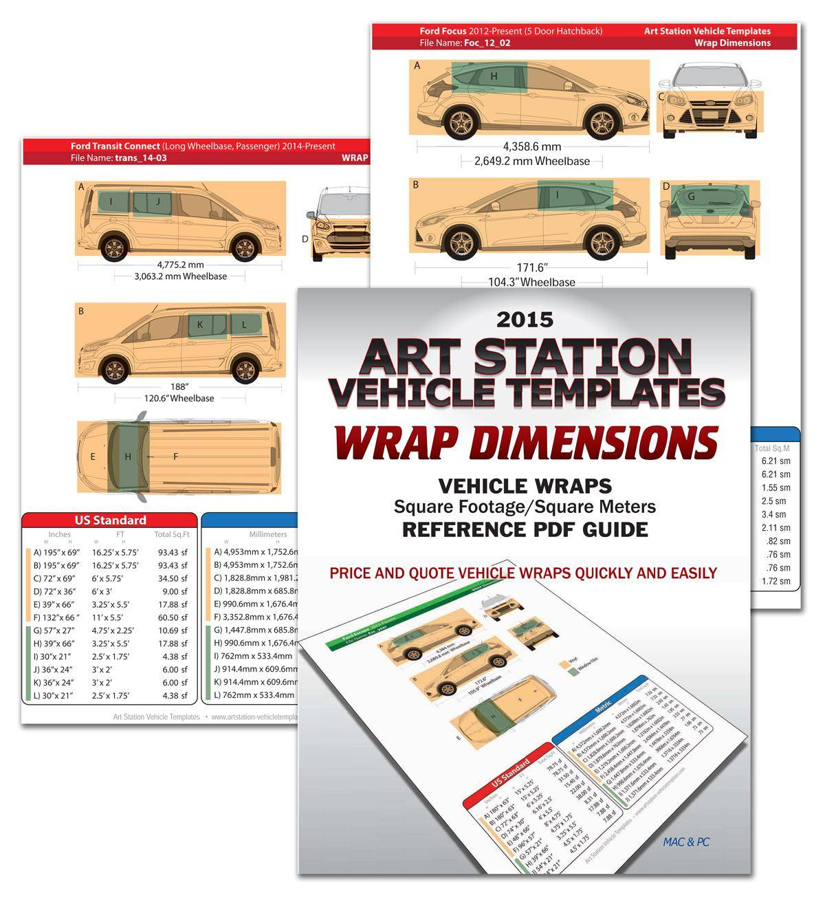 Vehicle Graphics Templates