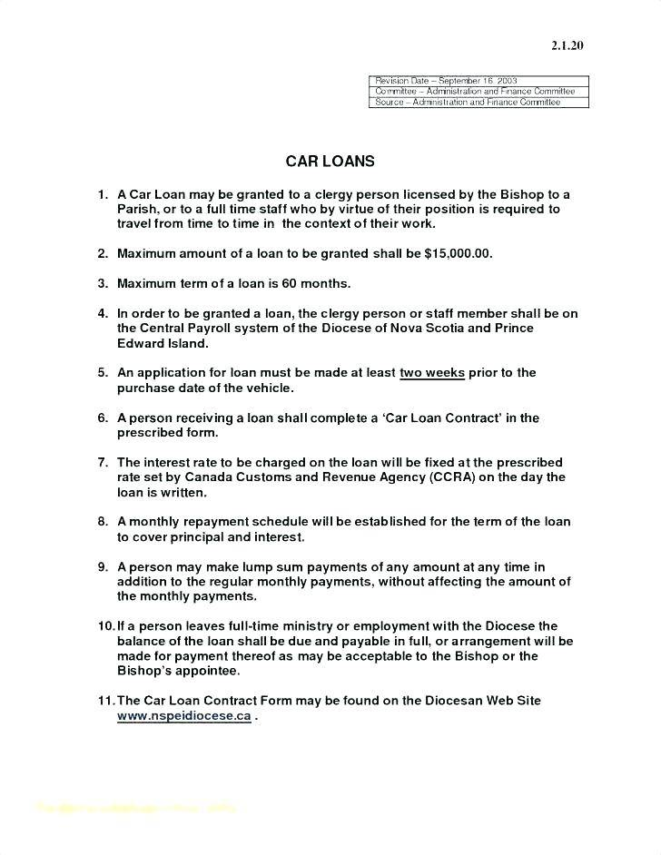 Vehicle Lease Agreement Template Alberta