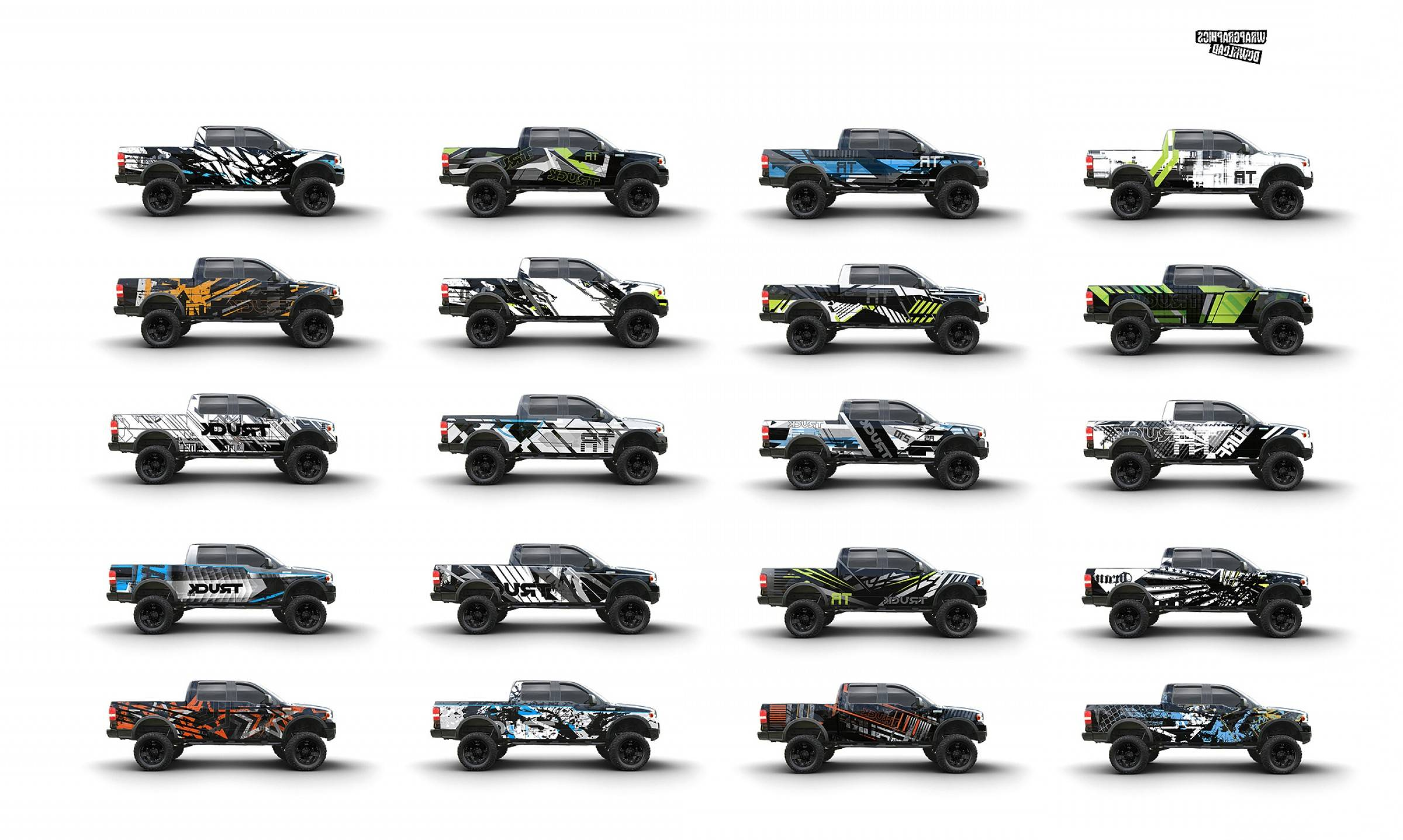 Vehicle Vector Templates