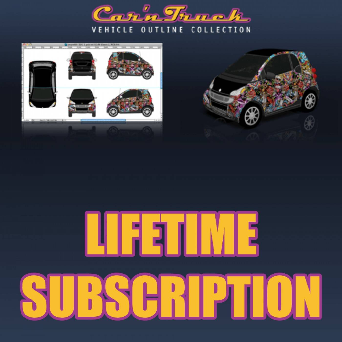 Vehicle Wrap Template Free Download