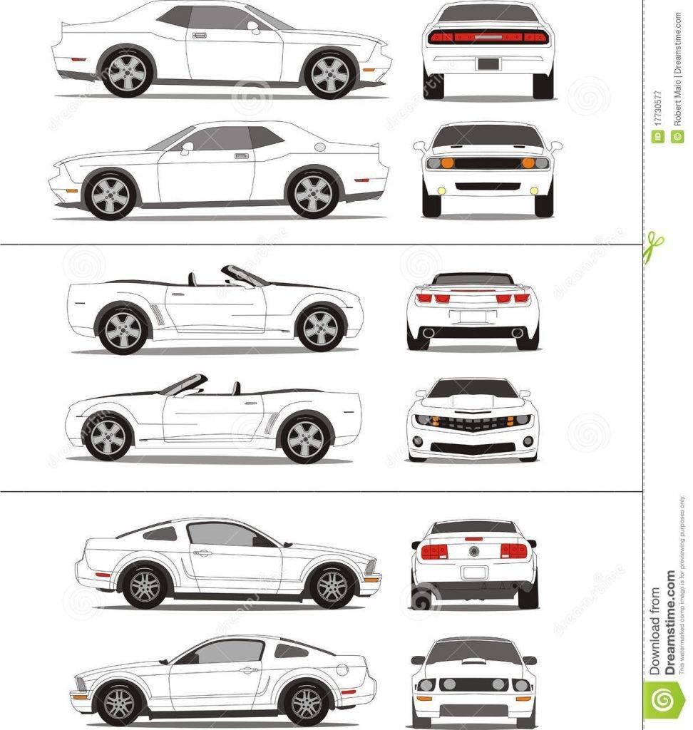 Vehicle Wrap Templates Photoshop