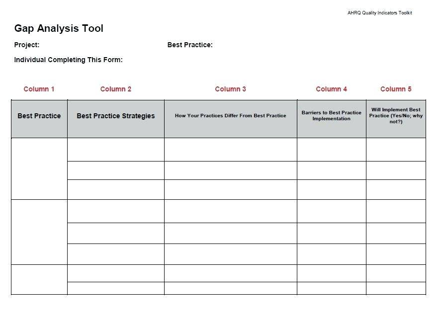Vendor Assessment Template Word