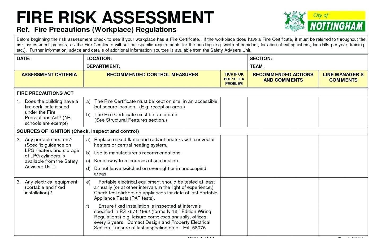 Vendor Risk Assessment Questionnaire Template