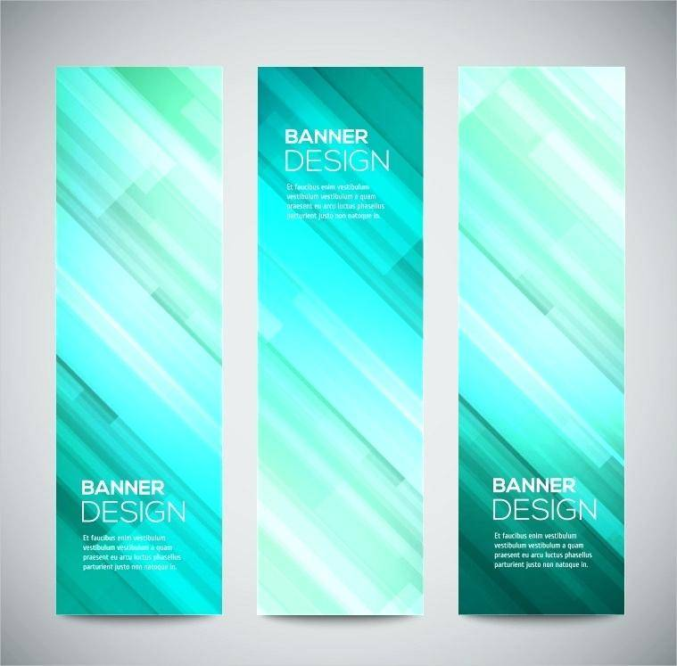 Vertical Banner Design Templates Psd